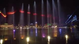 Шоу Фонтанов в Сингапуре.Полное видео