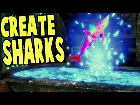 Depth - UPDATES, CRAFTING AN EPIC SHARK - Depth Gameplay