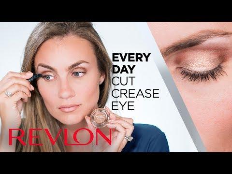Everyday Cut Crease Eye Shadow Tutorial with Angela Lanter | Revlon