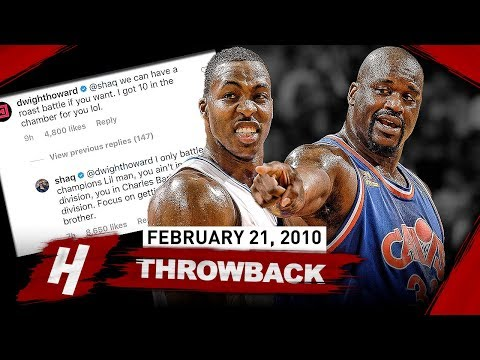 The Game OLD Shaquille O'Neal SCHOOLED Dwight Howard 2010.02.21 - EPIC BIG MEN Duel Highlights!