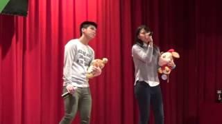 2015年度裘錦秋中學屯門歌唱比賽公開組小酒窩