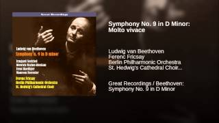 Symphony No. 9 in D Minor: Molto vivace