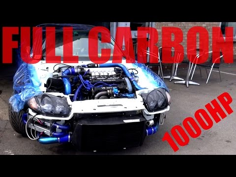 🐒 FULL CARBON BODY WITH 1000BHP 1995 MITSUBISHI GTO 3000GT VR4
