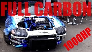 full carbon body with 1000bhp 1995 mitsubishi gto 3000gt vr4