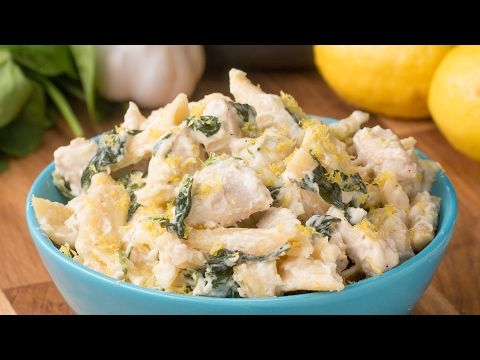 One-Pot Cheesy Lemon Chicken Pasta