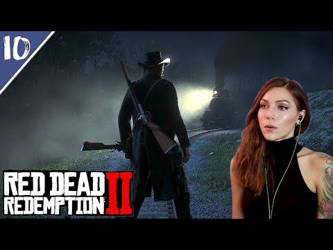 Train Heist with John Marston | Red Dead Redemption 2 Pt. 10 | Marz Plays thumbnail