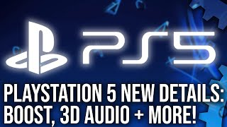 PlayStation 5 New Details From Mark Cerny: Boost Mode, Tempest Engine, Back Compat + More