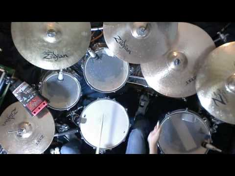 Boxcar Racer - Letters to God drum cover