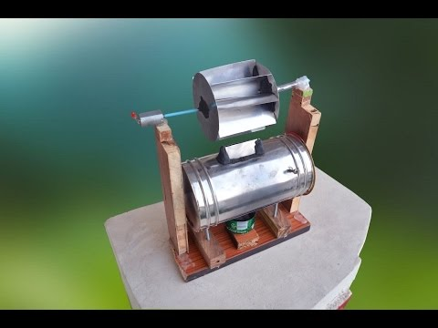 How To Make Steam Power Generator