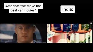 USA vs India | The Box Indian remix tiktok memes