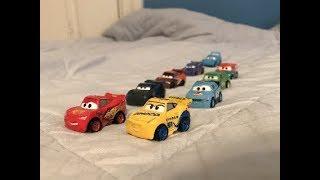 Mini Race Test-A Disney Cars Stop-Motion