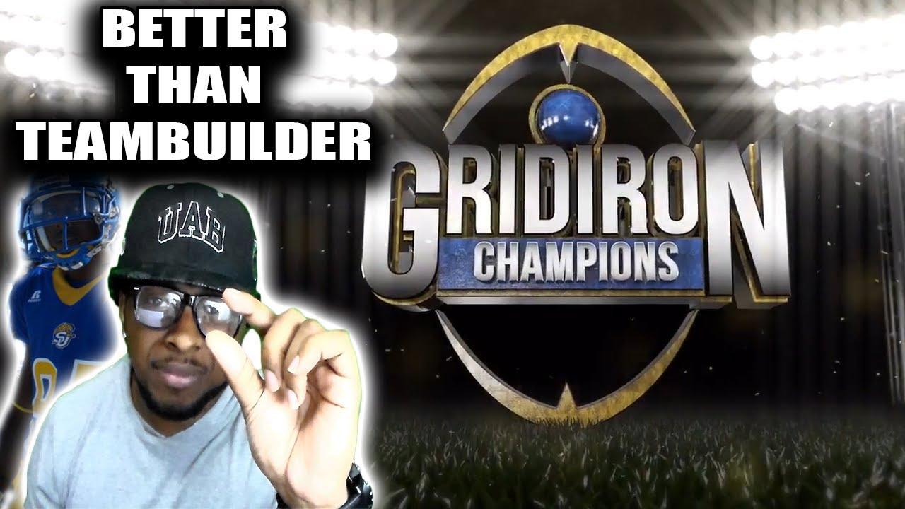 Help Me Design My Team in Gridiron Champions  YouTube