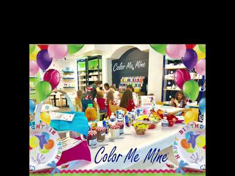 Birthday Celebration Color Me Mine Bridgewater New Jersey
