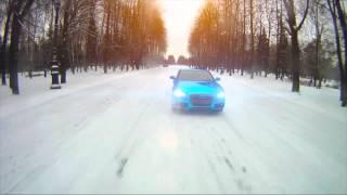 Audi Blue Chrome by Vinyl Dept