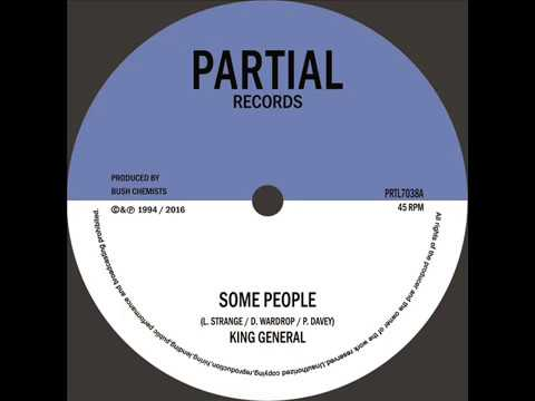 "King General / Bush Chemists - Some People  - Partial Records 7"" PRTL7038"