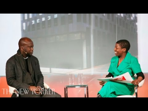 David Adjaye on architecture - The New Yorker Conference