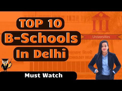 Top 10 B-Schools in Delhi NCR | Admission | Courses | Fees | Ranking | Placement