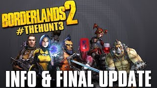 Borderlands 2 The Hunt 3 - Checklist, Live Updates, Final Announcement!