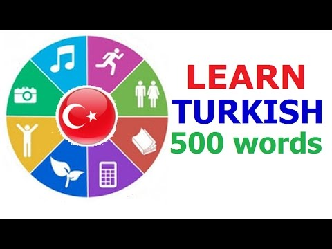 Learn Turkish (Vocabulary)