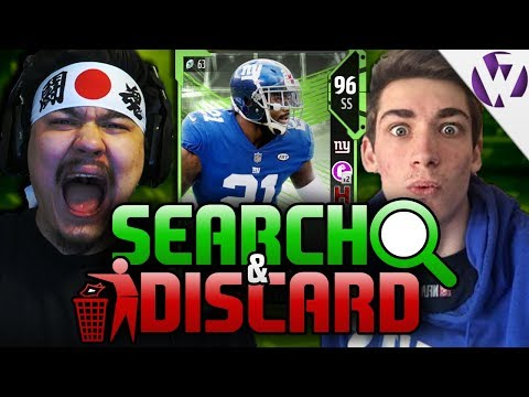 TEAM OF THE YEAR DEFENSE SEARCH & DISCARD vs...