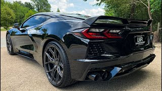 Most Muscle C8 Yet? We do our complete LMR exhaust system with Kooks headers!