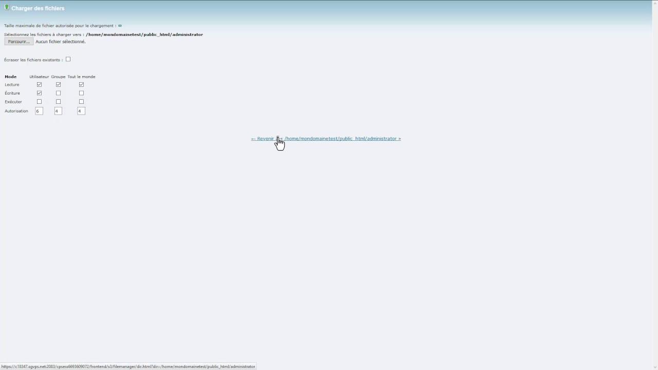 Hébergement Joomla - Le gestionnaire de fichiers chez SiteGround