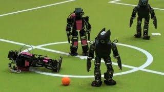 Robot Soccer Goes Big Time thumbnail