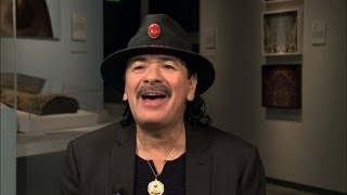 Santana on the charisma that inspired his rock career