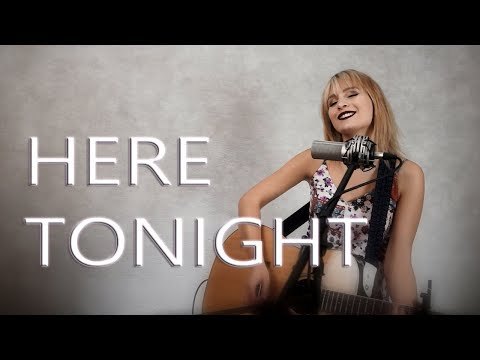 Here Tonight - Brett Young - Official Video - Jordyn Pollard cover