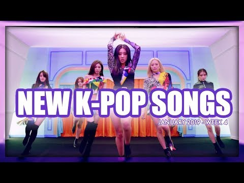 NEW K-POP SONGS  JANUARY 2019 WEEK 4