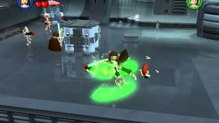 Lego Star wars прохохождение 1 часть + порно