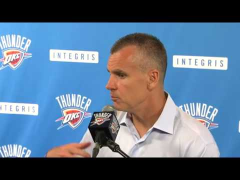 Thunder: Billy Donovan press conference