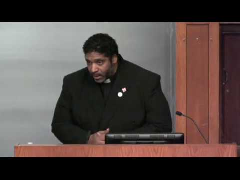 Reverend Barber Speaking at Princeton University (2013)