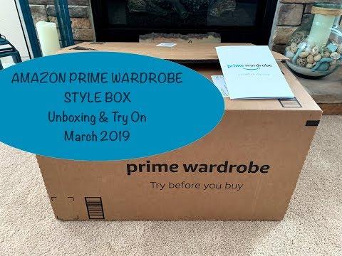 Amazon Prime Wardrobe Style Box - April 2019:  Unboxing & Try On...Stylist Spring Picks!📦💝👖👚🧥🌼