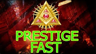AFTER PATCH (1.11)BO4 ZOMBIE GLITCHES: PRESTIGE FAST *SOLO*