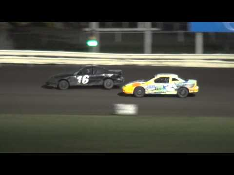Shiverfest Sport Compact Elimination feature Lee County Speedway 10/25/14