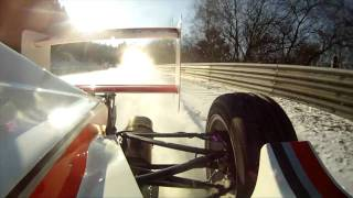 NÜRBURGRING onboard | Formel-Fahrzeug vs.Schnee auf der Nordschleife thumbnail