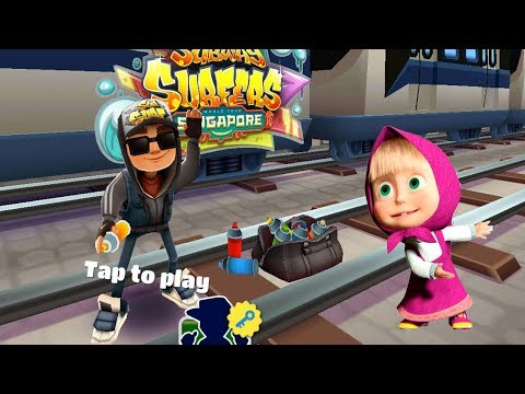 Subway Surfers Jake Vs Masha And The Bear Runner Android Gameplay