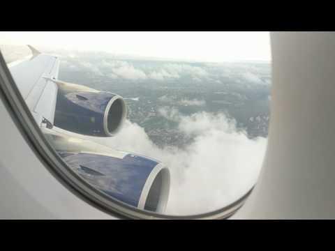 British Airways BA12 SIN-LHR Landing