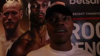 AND THE NEW! - ERROL SPENCE JR REACTS TO HIS 11th TKO WIN OVER BROOK TO BECOME IBF WORLD CHAMPION