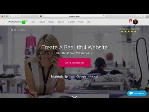 Free Website Builder | Make a Free Website | WebStarts