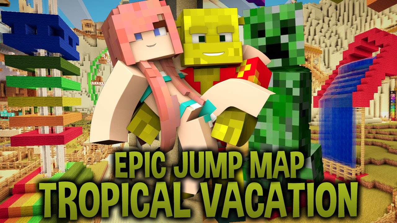 Epic jump map by: bodil40 (download link) youtube.