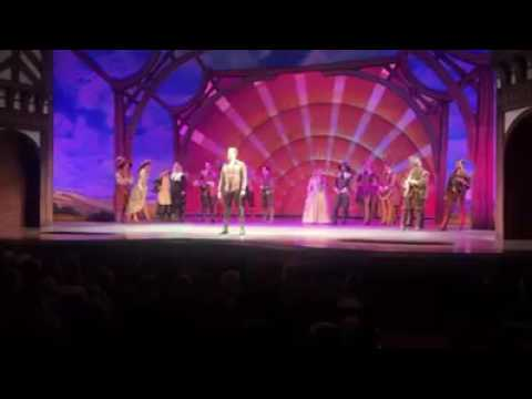 Adam Pascal Sings One  Glory In Something Rotten Curtain Call