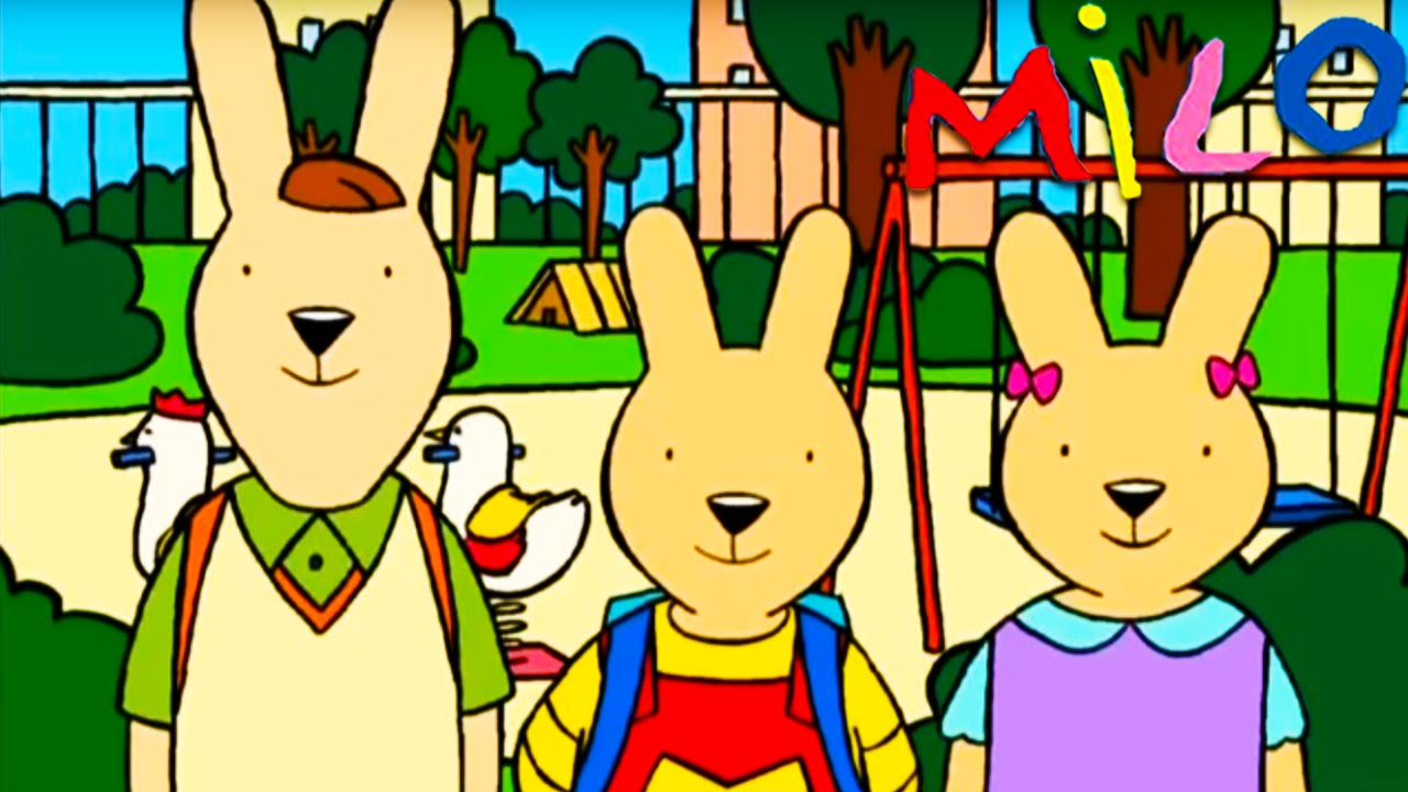 Milo - Milo au zoo, à l'exposition et l'auto école | dessin animé pour enfants - YouTube