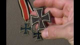 German Iron Cross WW2 WW1 First class second class identification Military medal Award