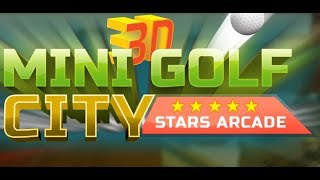 Mini Golf 3D City Stars Arcade - Multiplayer preview!