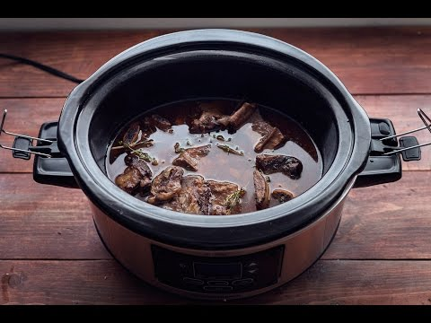 Crock Pot Beef Short Ribs