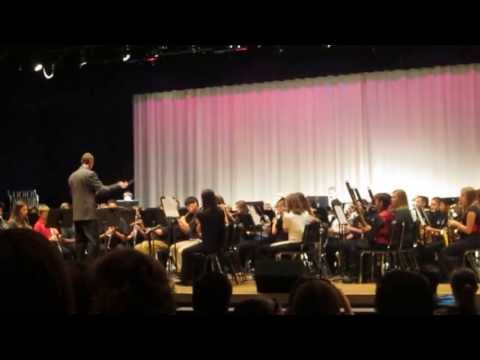 Conquista (Spanish March), performed by 2013 Chesterfield All-County Concert Band 2013