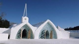 Ледяной отель в Квебеке (Hotel of Ice).