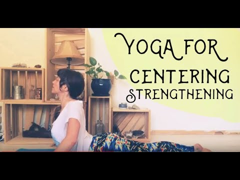 Yoga for centering, Relaxing and strengtheing- Jen Hilman